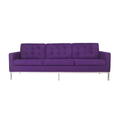 Lorane Sofa Upholstery: Purple