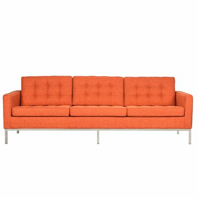 Lorane Sofa Upholstery: Orange