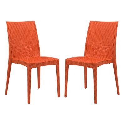 Mace Side Chair Finish: Orange