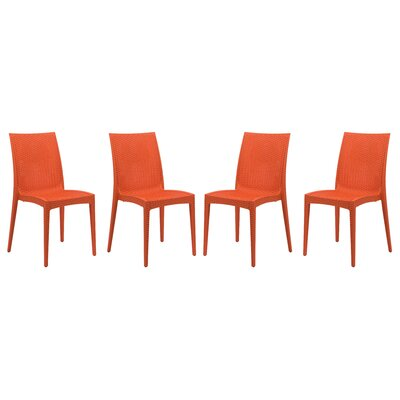 Mace Side Chair Finish: Orange