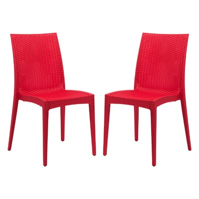Mace Side Chair Finish: Red