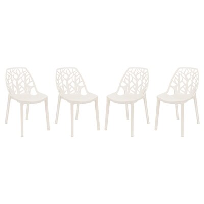 Kimonte Side Chair Finish: White