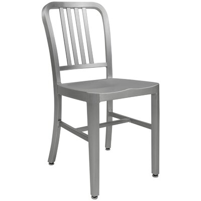 Alton Modern Side Chair Finish: Silver