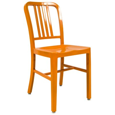 Alton Modern Side Chair Finish: Orange
