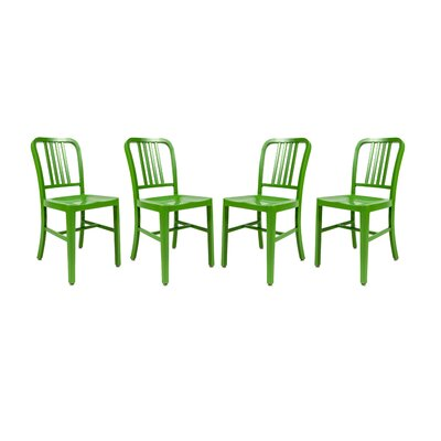Alton Modern Side Chair Finish: Green