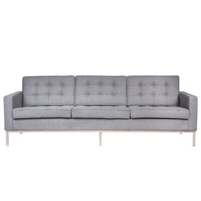 Lorane Sofa Upholstery: Light Gray