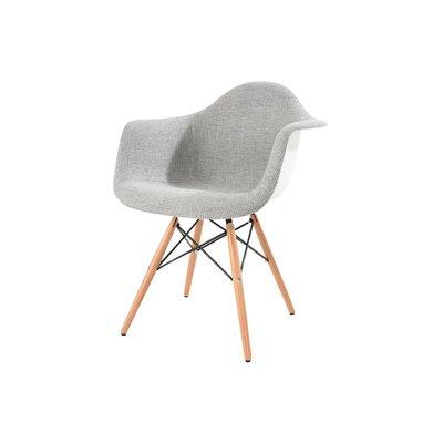 Bullsbrook Eiffel Accent Armchair Upholstery: Gray