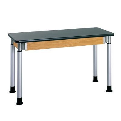 Adjustable Height Science Table With ChemArmor Top Size: 27