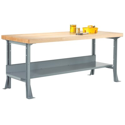 "Diversified Woodcrafts Workbench - Surface: 2.25"" Maple, Size: 96"" W x 30"" D x 32-1/4"" H at Sears.com"