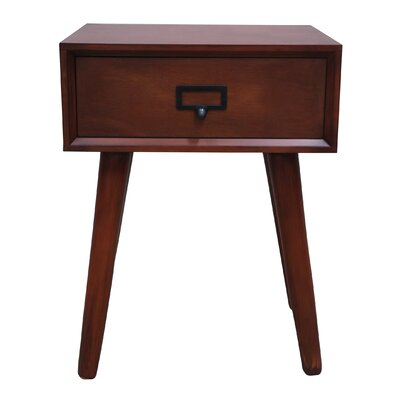 Hartford End Table Color: Light Walnut