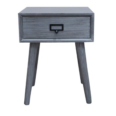 Hartford End Table Color: Slate Gray