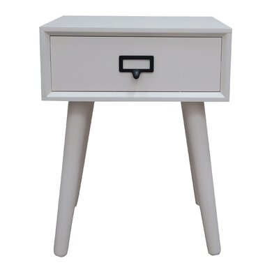 Hartford End Table Finish: Cream