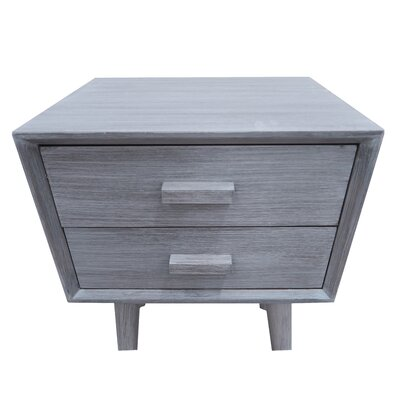 Hartford End Table Finish: Slate Gray