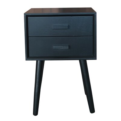 Hartford End Table Color: Black