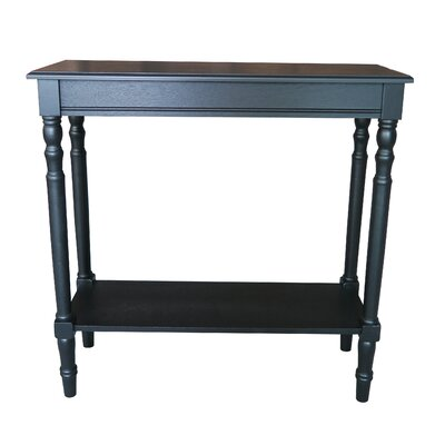 Newport End Table Finish: Black