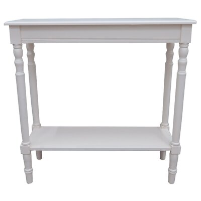 Newport End Table Color: Cream