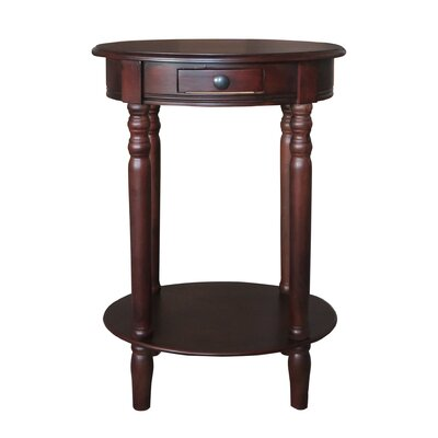 Woodbury End Table Color: Cherry