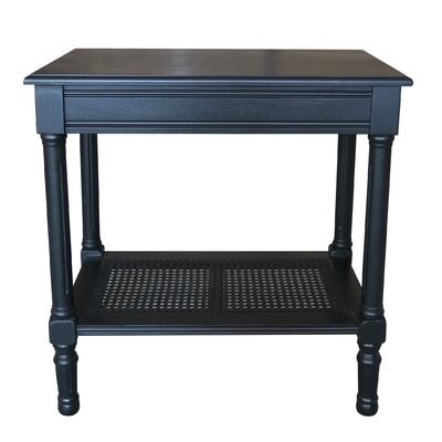 Jamestown End Table Finish: Black