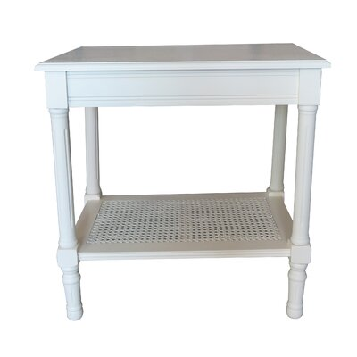 Jamestown End Table Color: Cream