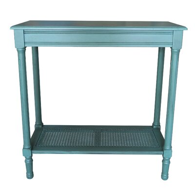 Alexandria End Table Color: Teal