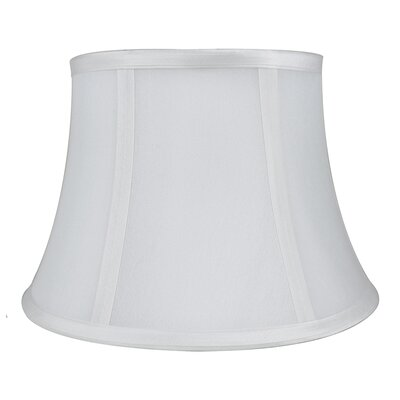 7 Silk Bell Lamp Shade Color: Off White