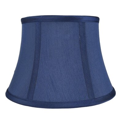 7 Silk Bell Lamp Shade Color: Navy Blue