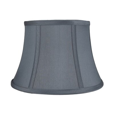 7 Silk Bell Lamp Shade Color: Gray