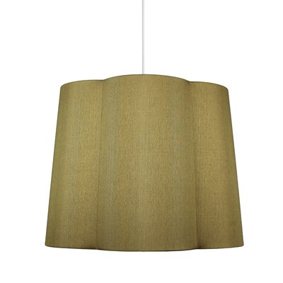 Imani 1-Light Drum Pendant Shade Color: Gold