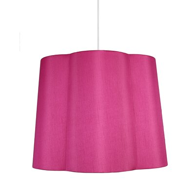 Imani 1-Light Drum Pendant Shade Color: Fuchsia