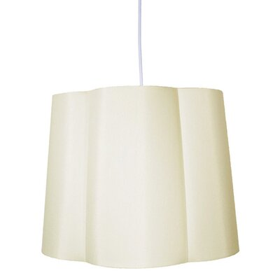 Imani 1-Light Drum Pendant Shade Color: Eggshell