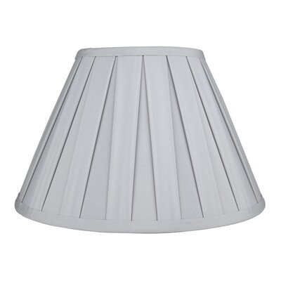 Softback 12 Faux Silk Empire Lamp Shade Color: Light Gray