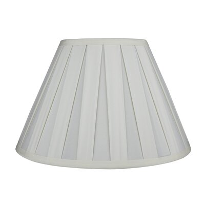 Softback 12 Faux Silk Empire Lamp Shade Color: Eggshell