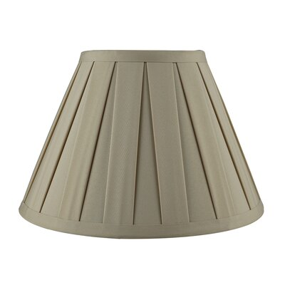 Softback 10 Faux Silk Empire Candelabra Shade Color: Tan