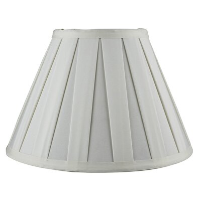 Softback 10 Faux Silk Empire Candelabra Shade Color: Eggshell