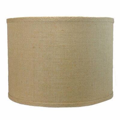 Classic 14 Burlap Drum Lamp Shade Color: Natural Burlap