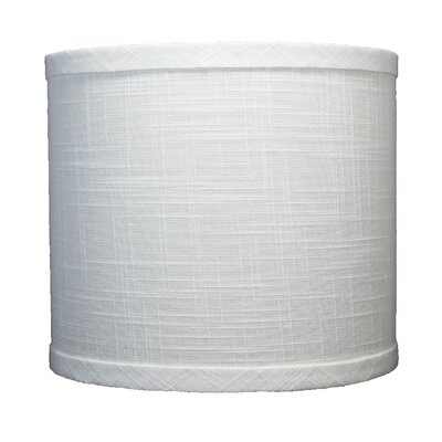 Classic 8 Linen Drum Lamp Shade Color: Off White