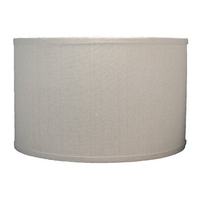 Classic 16 Linen Drum Lamp Shade Color: Natural