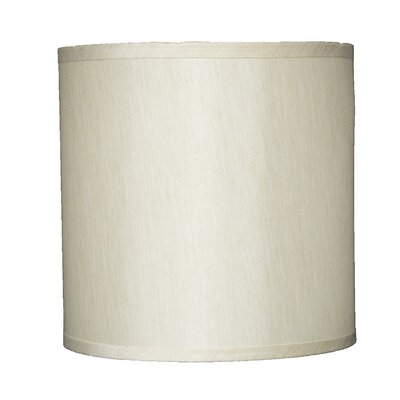 Classic 10 Faux Silk Drum Lamp Shade Color: Cream
