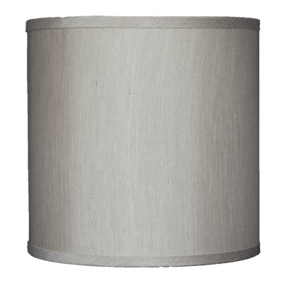 Classic 10 Faux Silk Drum Lamp Shade Color: Champagne