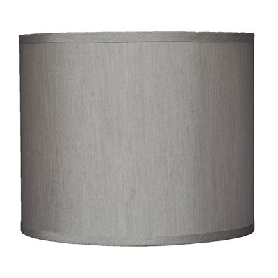 Classic 12 Faux Silk Drum Lamp Shade Color: Champagne
