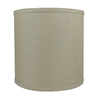Classic Smooth 10 Linen Drum Lamp Shade Color: Natural
