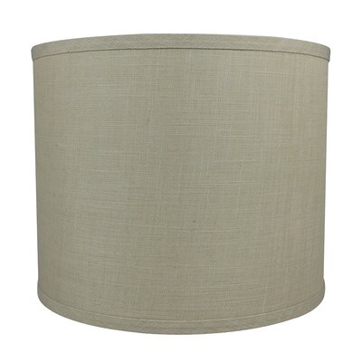 Classic Smooth 12 Linen Drum Lamp Shade Color: Natural