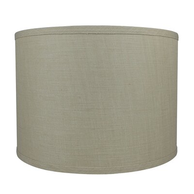 Classic Smooth 14 Linen Drum Lamp Shade Color: Natural
