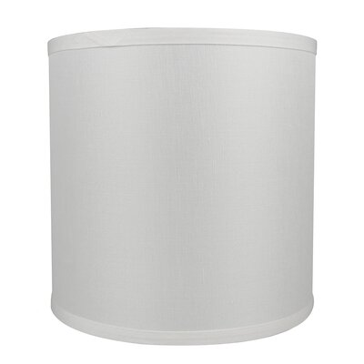Classic Smooth 10 Linen Drum Lamp Shade Color: Off White