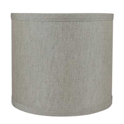 Classic Smooth 8 Linen Drum Lamp Shade Color: Oatmeal