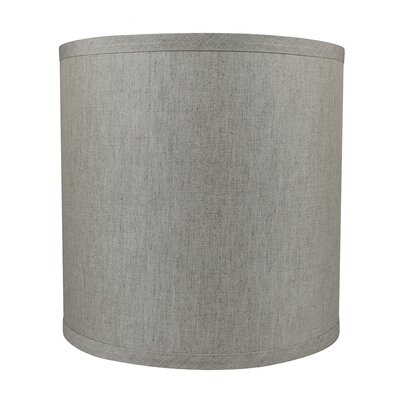 Classic Smooth 10 Linen Drum Lamp Shade Color: Oatmeal