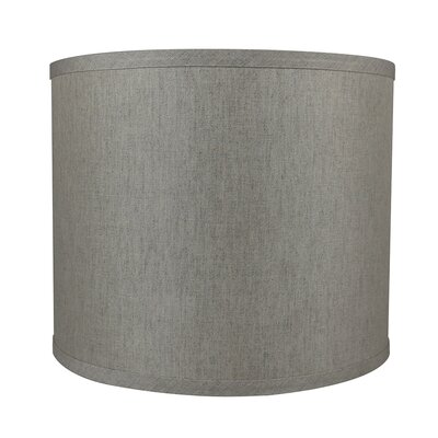 Classic Smooth 12 Linen Drum Lamp Shade Color: Oatmeal