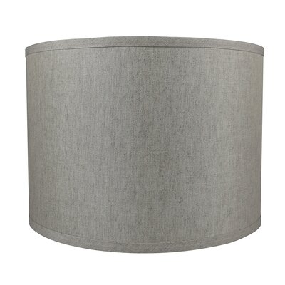 Classic Smooth 14 Linen Drum Lamp Shade Color: Oatmeal
