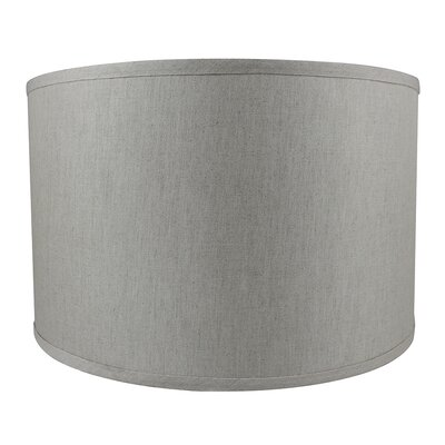 Classic Smooth 16 Linen Drum Lamp Shade Color: Oatmeal