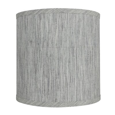 Classic Smooth 10 Linen Drum Lamp Shade Color: Storm